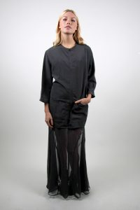 Style #95 Zip Front Smock - No Collar