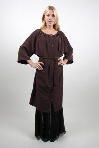 Style #86-G  Elastic Neck Robe