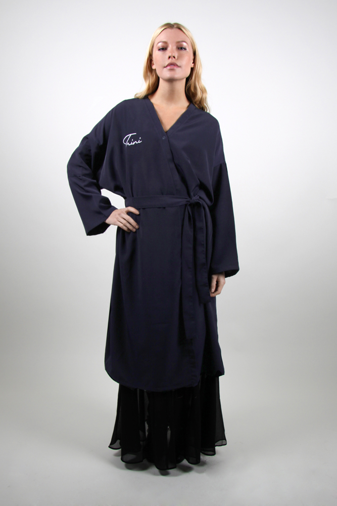 Style #875 Long Kimono Wrap Robe