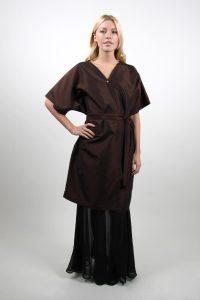 Style #85 Kimono Style Wrap Front