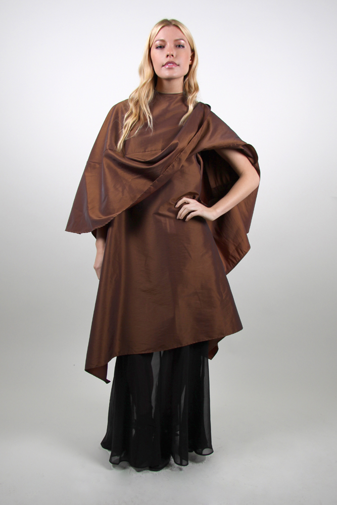 Style #910 Large Cape with Overdrape