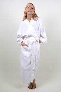Style #210 Waffle Weave Spa Robe