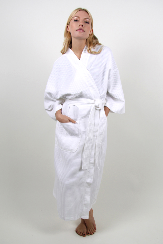 Style #210 Waffle Weave Spa Robe