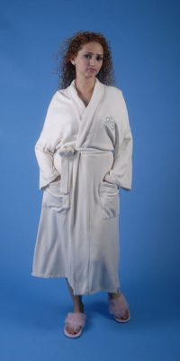Style #260 Organic Cotton Spa Robe
