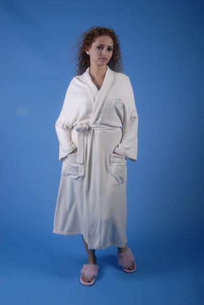 Style #260 Organic Cotton Spa Robe