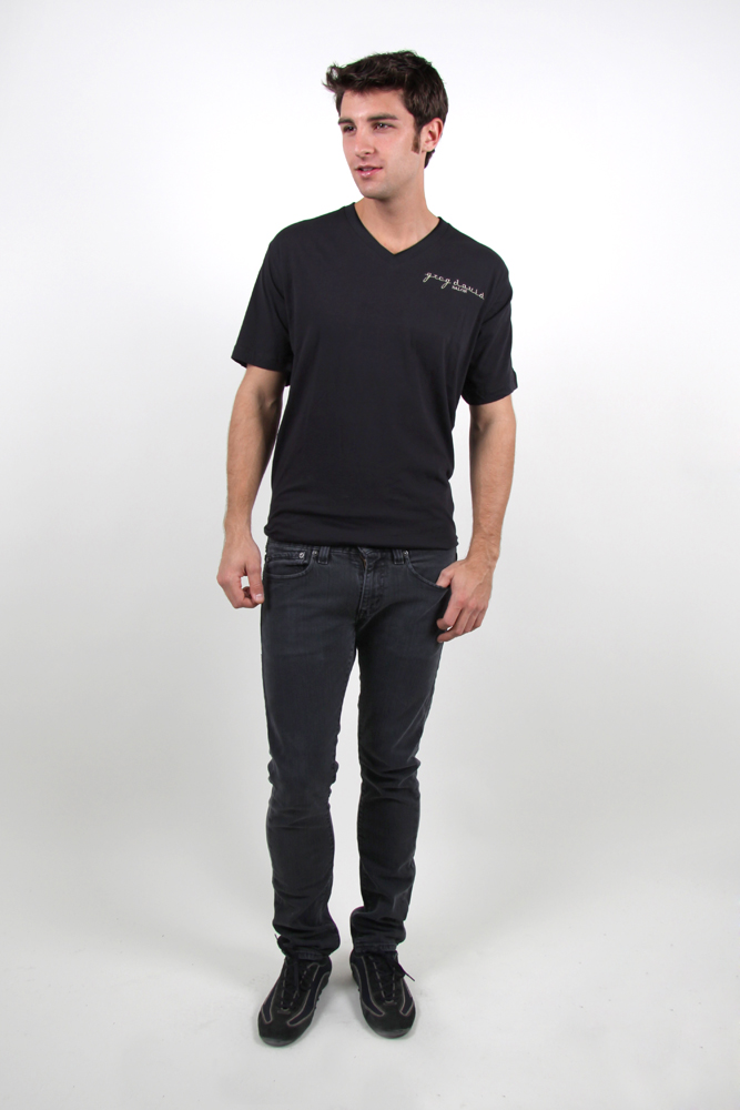 Style #535 Men's V Neck Tees