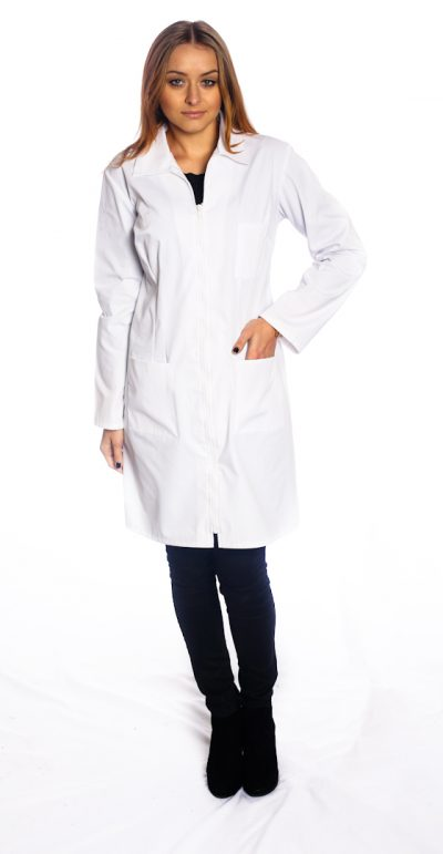 Ladies fitted lab jacket style # 1805