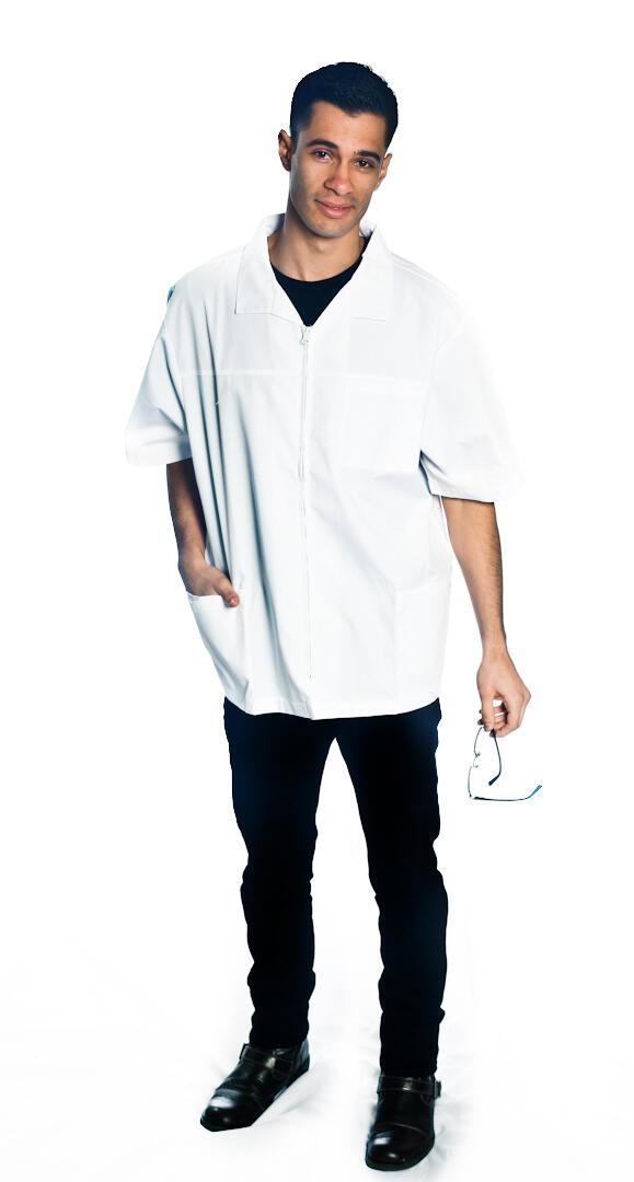 Men's Zip Front Jacket Style # 1607