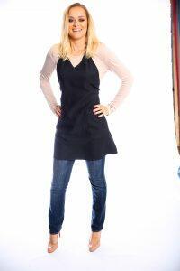 Style # 112 Short V-Neck Apron