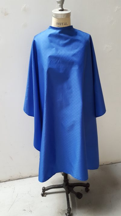 Royal blue cutting cape