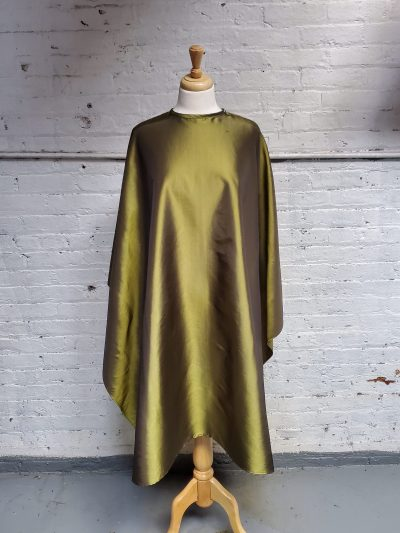 Olive green cutting cape