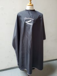 Black barber cape # 935