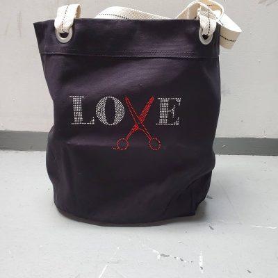 Rhinestone Tote Bag