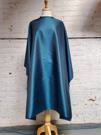Teal blue cutting cape