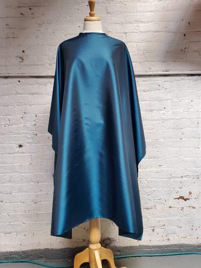 Teal blue cutting cape