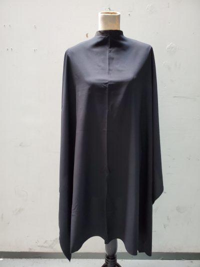 Black cutting cape