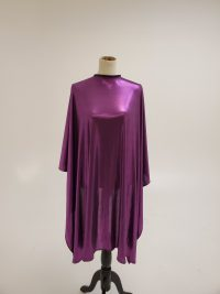 Purple cutting cape