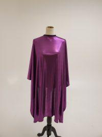 Purple cutting cape